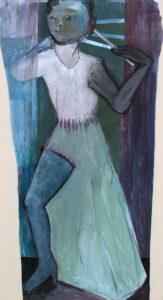 HuanHe / 135x75 cm / Mischtechnik, Papier auf Leinwand